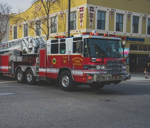 """I wonder about the day when firefighters will look back and say, """"Hey, remember those silly LED lights they used to use?"""" (Photo/Pixabay)"""