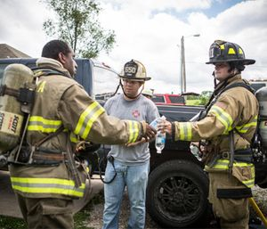 Make it your mission to follow these five steps for firefighter prehab so you'll be ready to face the demands of the job. (Photo/Joe Thomas of Greenbox Photography)