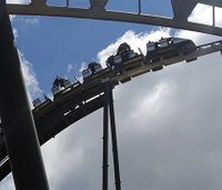 Firefighters remove riders on stuck roller coaster