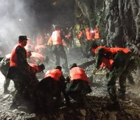 Rescuers find bodies after China quake kills 19, injures 247