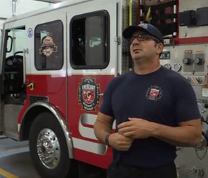 Lincoln Fire-Rescue firefighter-paramedic Brent Jones said he got the help he needed after five of his colleagues died by suicide in the past five years. (Photo/1011 Now)