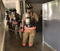 Firefighters testing technology to locate people faster in emergencies