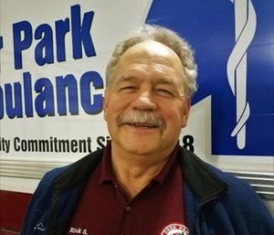 Rick Stone was saved by his wife when he went into cardiac arrest, thanks to CPR training he gave her more than 30 years ago. (Deer Park Volunteer Ambulance)