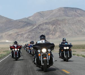 Over 200 people participate in the ride. (PoliceOne Image)