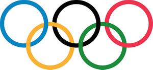 Olympic rings (Photo/Wikimedia)