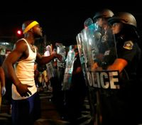Protesters smash windows in 2nd violent night near St. Louis
