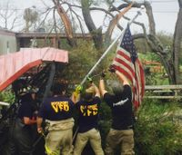 Firefighters who have lost their homes in need after Harvey