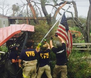 Many firefighters and their families have suffered major losses in the disaster. (Photo/SFFMA)
