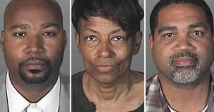 From left: Brandon Kiel, Tonette Hayes and David Henry. (L.A. County Sheriff's Department Image)