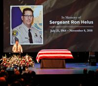 Thousands honor slain Calif. sergeant at funeral