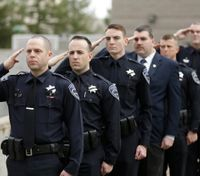 Thousands gather at funeral for slain Calif. rookie