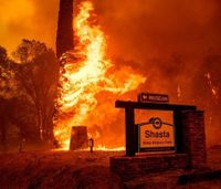 Firefighter, dozer operator dead as wildfire rips through Calif. town