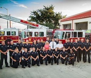 The St. Augustine Fire Department recently added a supply of body armor and helmets to each of their trucks. (Photo/SAFD)