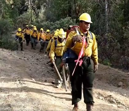 Video Samoan Firefighters Sing Moving Hymn While Battling