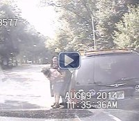 Video: Mich. cop's traffic stop becomes race against time