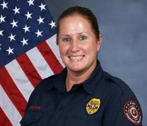 Cobb County Fire Department firefighter Stacey Leigh Boulware, 44, had just successfully completed her physical tests when she collapsed at the station. (Photo/CCFD)