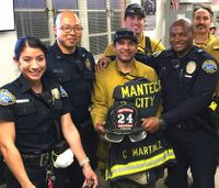 Video: Firefighter reunited with gear stolen during Thomas Fire