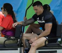 Rugby player forced to wait 90 minutes for Olympic ambulance