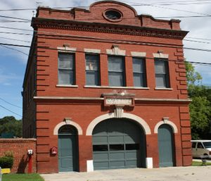 "Station 8 in Charleston, S.C. is known as the ""ghost house."" (Photo/Charleston-sc.gov)"