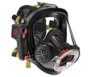 The cameras, made by Scott Safety and known as Scott Sight, attach to Scott Air-Pak masks and give firefighters the ability to locate people as well as hot spots in complete darkness or the densest smoke. (Photo/Scott Safety)