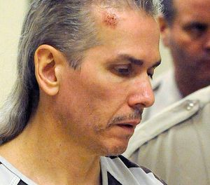 Berget is one of two inmates convicted in the 2011 killing of guard Ronald Johnson during a failed escape attempt at the state prison in Sioux Falls. The other inmate, Eric Robert was executed by lethal injection in 2012. (Elisha Page/Argus Leader via AP, File)