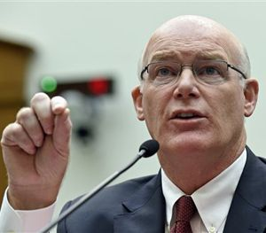 In this Nov. 19, 2014 file photo, then-acting Secret Service Director Joseph Clancy testifies on Capitol Hill in Washington. (AP Image)