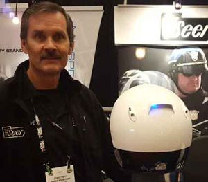 SHOT Show 2016: Seer displays innovative new lighting system for motor helmets