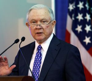 Pictured is U.S. Attorney General Jeff Sessions. (AP Photo/Carolyn Kaster)