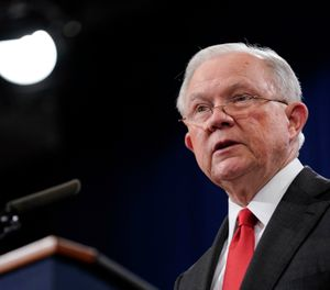 Pictured is Jeff Sessions. (Photo/AP)