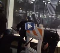 Video: 5 cops wounded, 79 arrested in SF Ferguson protest