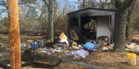 NC fire chief burned in explosion