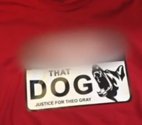 'F--- that dog': Detroit man selling T-shirts supporting suspect who killed K-9