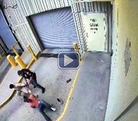 Video: Suspect shot to death by Texas cop in jail struggle