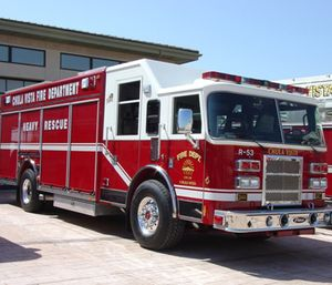 In Chula Vista, firefighters and paramedics respond to low-priority 911 calls even though less than one percent of those calls require emergency medical services. (Photo/City of Chula Vista)