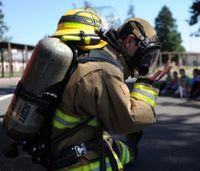 Limiting firefighter exposure to asbestos after a disaster