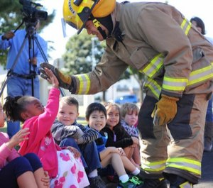 Delivering impactful fire and life safety education to reduce preventable fires to members of any community is a challenge for all fire departments. (Photo/USAF)