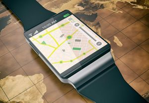 GPS on a smartwatch is just one innovation that connects officers to mission-critical data. (photo/iStock)