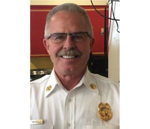 Battalion Chief Terry Smerdel was found unresponsive in his office by colleagues. (Photo/San Francisco Fire Department)