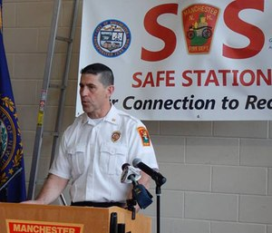 Without a doubt, Safe Station has been the first step to providing substantial help for members of the community who suffer from addiction. (Photo/Manchester Fire Department Facebook)