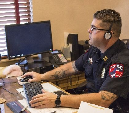 How speech recognition technology improves police report writing