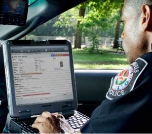 Mobile intelligence makes it easier for patrol car officers to work together in the field, as well as working with headquarters. (Photo/Courtesy)