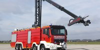 Fire rig concept could put fast water on attic fires