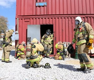 Career and volunteer fire chiefs attribute their staffing problems to different sources. (Photo/LakeCountyFl.gov)