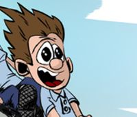 Frequent Flyers: If Calvin grew up to become a paramedic