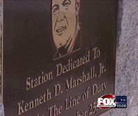 Mass. fire station named after fallen firefighter