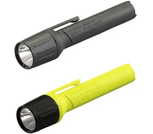 """Features an impact-resistant engineering polymer body and face cap, and an """"unbreakable"""" polycarbonate lens. (Photo courtesy Streamlight, Inc.)"""