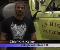 Iowa fire chief on hunger strike for new firehouse