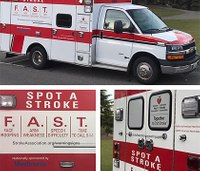 EMS agency debuts stroke PSA on ambulance