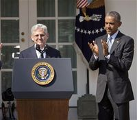 Obama nominates Garland to Supreme Court
