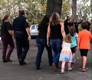 Retreats focus on symptom reduction for firefighters and other public safety personnel suffering from PTSD and other work-related stressors, and the SOS (Spouses and Significant Others) focuses on the impact on family members. (Photo/FRSN Video)